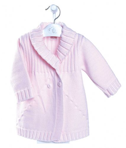Baby girls knitted baby coat